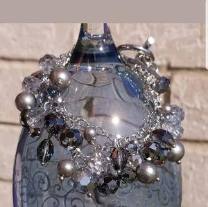 WHBM Glitzy Grays Bracelet